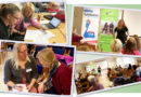 Fotokollage från kursaktiviteter t ex föreläsningar