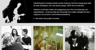 Bild på Arvsfondens webbsida