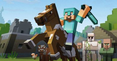 Bild från spelet Minecraft