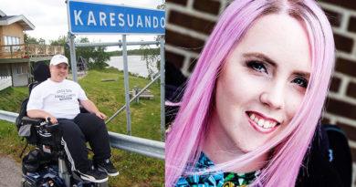 Foto på Joel Gustafsson och Sanna Hedlund