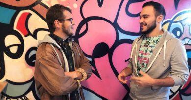 Rami och Fredrik, foto från SR