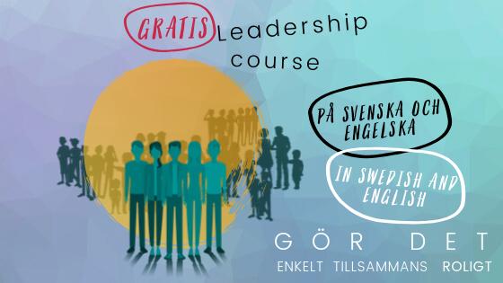 Ledarskapskurs – Leadership course