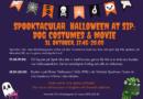 Spooktacular Halloween at SIP: Dog costumes & movie