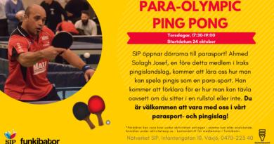 Para-Olympic Ping Pong