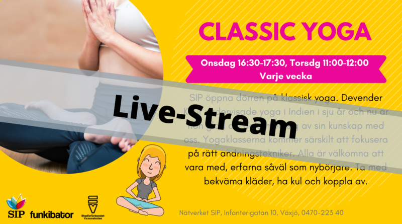 Classic Yoga – Live-Stream