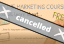Free online marketing course – Cancelled