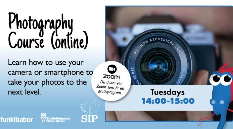Fotograferingskurs online