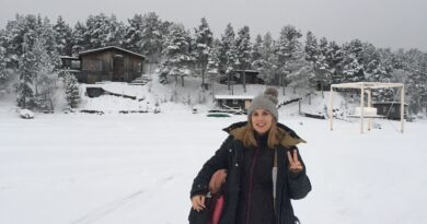 Living four seasons in Sweden